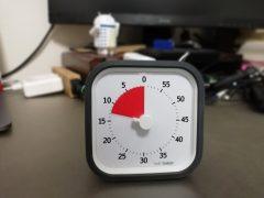 【製品レビュー】時間管理を圧倒的に改善してくれる「Time Timer」を買った!