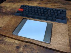 HHKB向けにTrackPad内蔵パームレストを作ってみた
